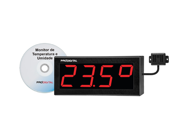 Monitor de temperatura y humedad para Data Center